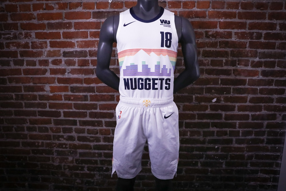 nuggets rainbow jersey