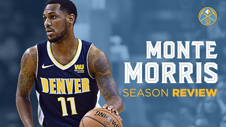 reputable site 2907f eb562 2017-18 Nuggets Player Breakdown: Monte Morris | Denver Nuggets