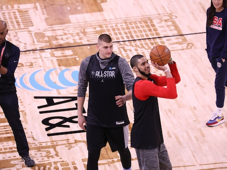Photo Gallery: Nikola Jokić at 2020 All-Star game practice