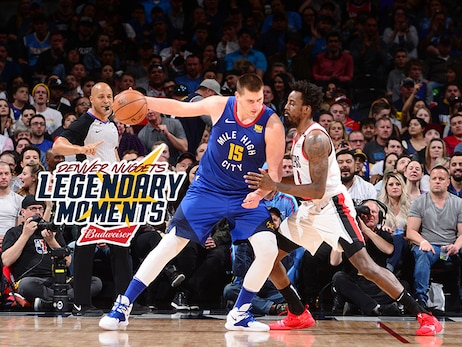 Nuggets Legendary Moments: Denver clinches Northwest Division in 2019