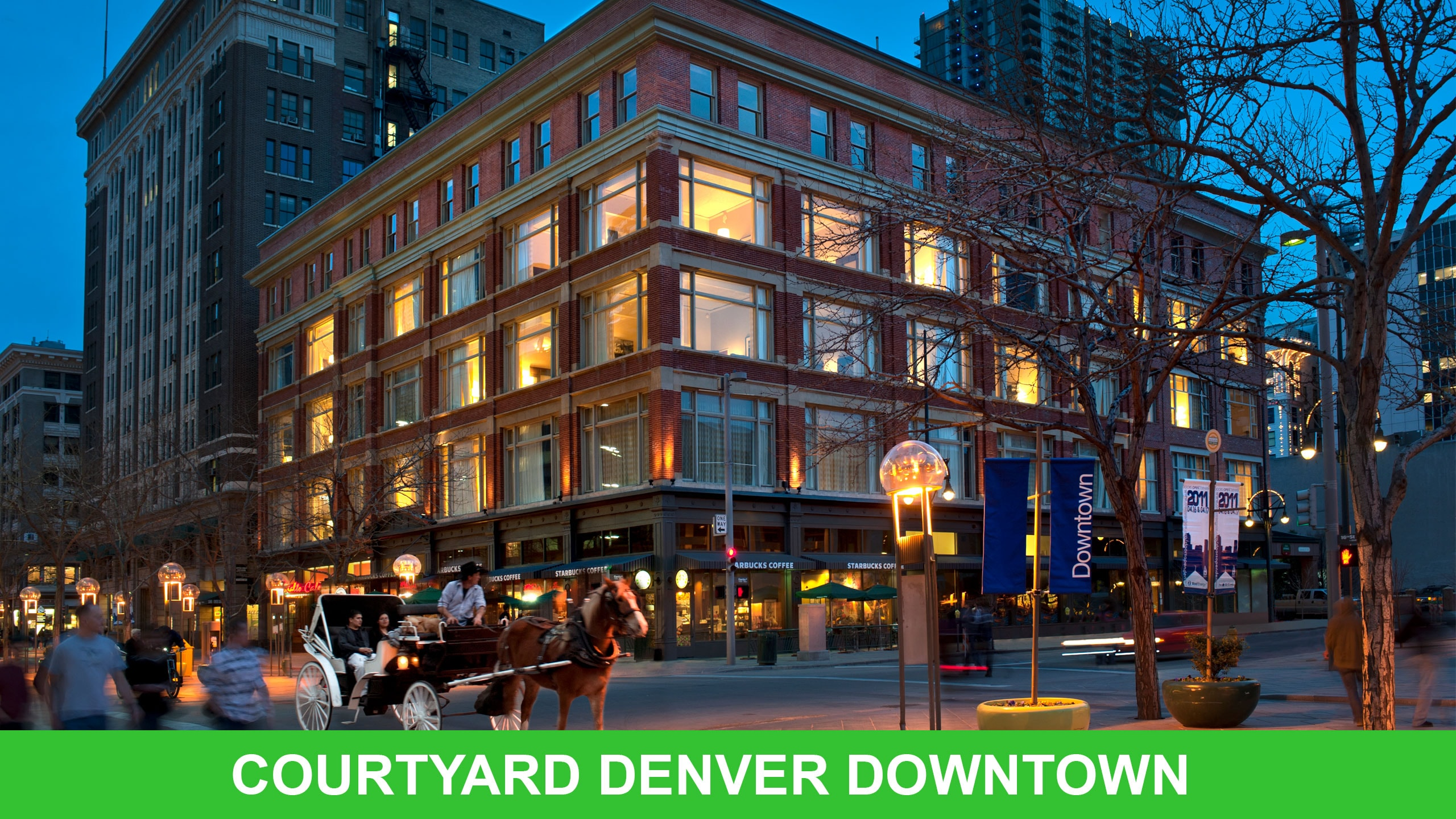 Located In A Historic Building On The Famous 16th Street Mall Our Downtown Denver Hotel