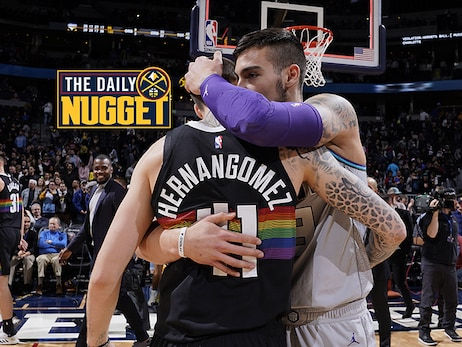 Daily Nugget: Juancho and Willy Hernangomez reunite during Wednesday's game