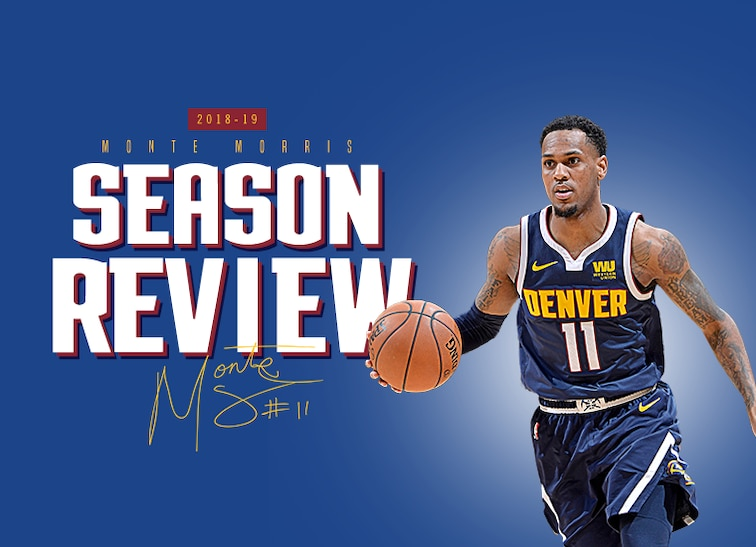low priced b49f4 0d13b Denver Nuggets Season Review: Monte Morris | Denver Nuggets