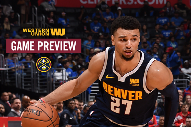 Game Preview: Nuggets Take on Suns in Home Opener