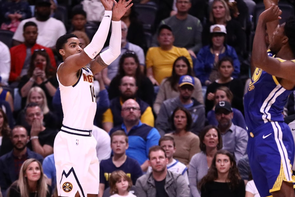 Nuggets Comeback to Defeat Warriors Remain Undefeated