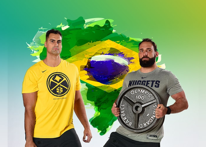 Nuggets strength team making a huge impact in native Brazil | Denver Nuggets 16