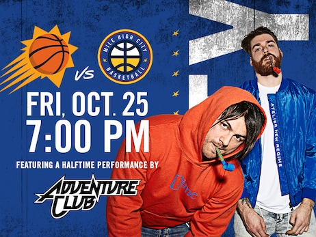 Denver Nuggets, Live Nation announce Adventure Club as opening night act