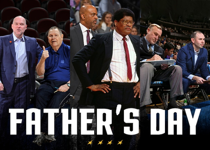 Like Fathers, Like Sons: The unique upbringings that helped cultivate a love of the game for Michael Malone, Wes Unseld Jr. and David Adelman | Denver Nuggets 1