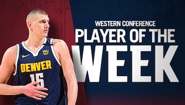 Jokić Named Western Conference Player of the Week