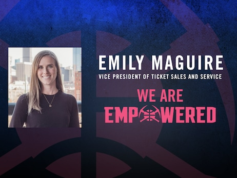 Denver Nuggets celebrate Women's Empowerment Month: Distinguishing Emily Maguire