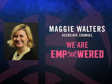 Denver Nuggets celebrate Women's Empowerment Month: Maggie Walters
