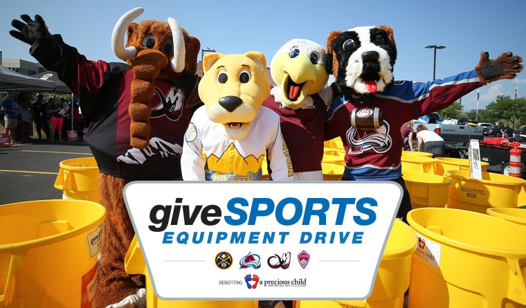 7th Annual giveSPORTS Equipment Drive
