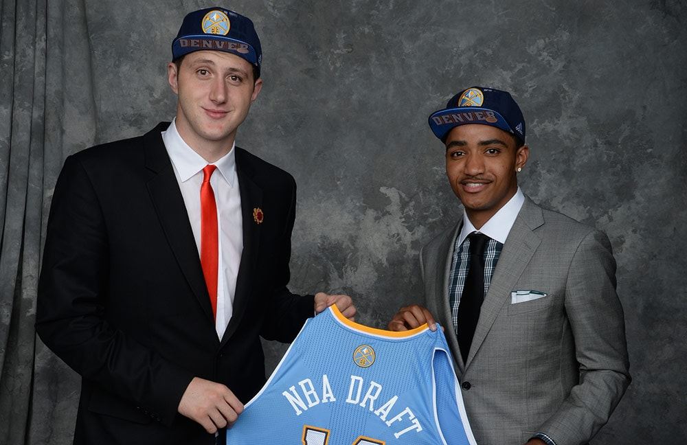 Nuggets Exercise Options on Harris and Nurkić