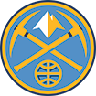 Denver Nuggets Pick Axe Logo