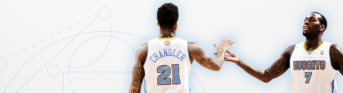 Denver Nuggets Group Tickets Header
