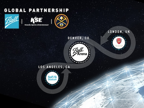 Denver Nuggets will now play in Ball Arena as part of KSE, Ball Corporation Global Partnership