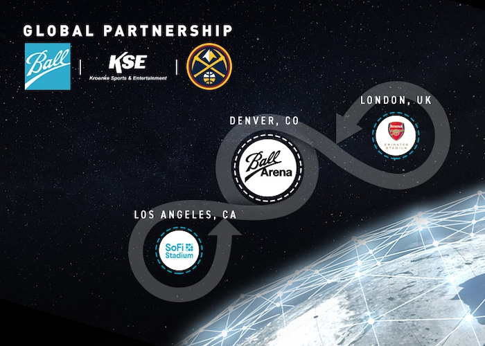 Denver Nuggets will now play in Ball Arena as part of KSE, Ball Corporation Global Partnership | Denver Nuggets 2