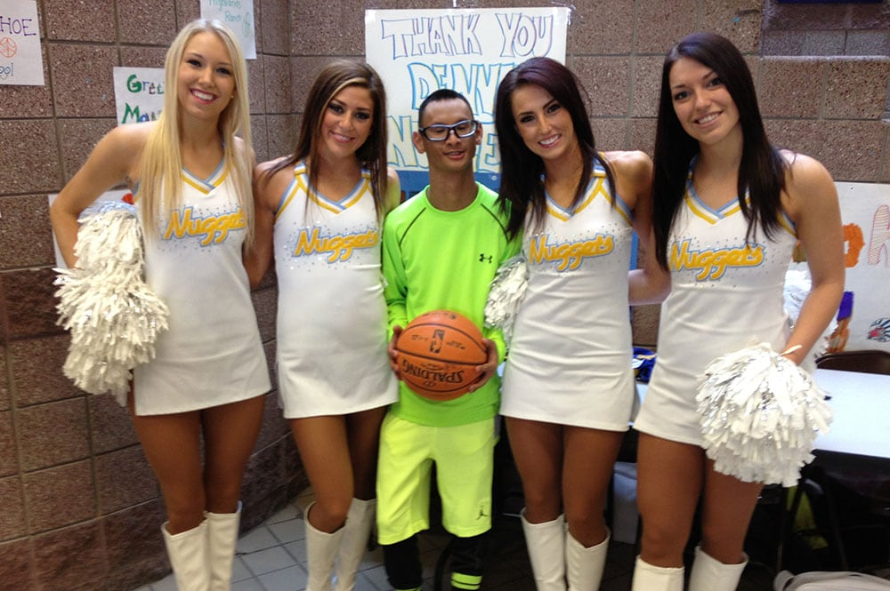 Denver Nuggets Dancers Appearances