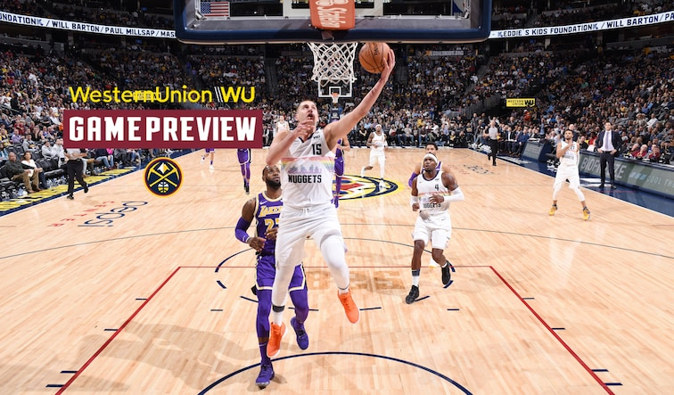 Preview Denver Nuggets Host Los Angeles Lakers In Clash