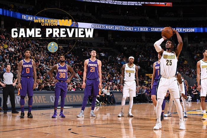 Game Preview: What to Watch For in the Nuggets Game vs. the Suns