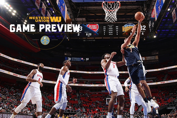 Game Preview: Nuggets Look to Bounce Back In Game Against Detroit
