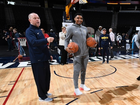 Denver Nuggets' Gary Harris happy to see Coach Michael Malone extended