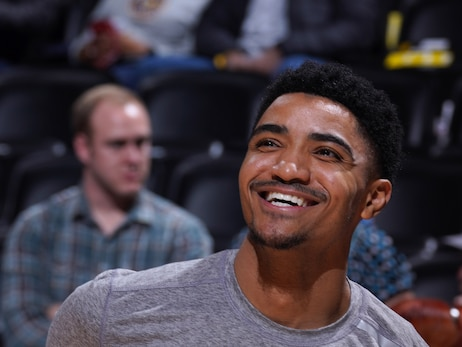 Nuggets' Gary Harris donates meals and baby supplies to families at Clayton Early Learning Center