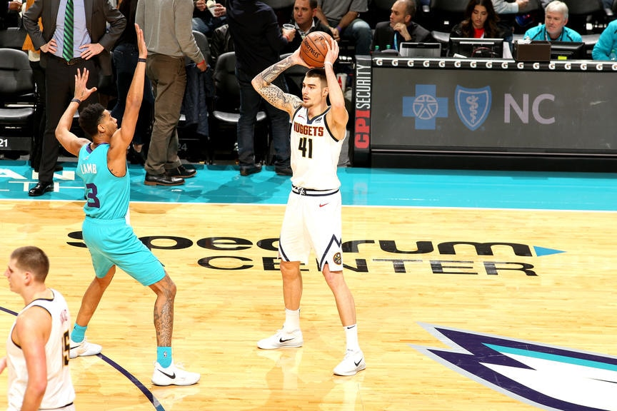 Nuggets Fall at Hornets 7-Game Win Streak Snapped