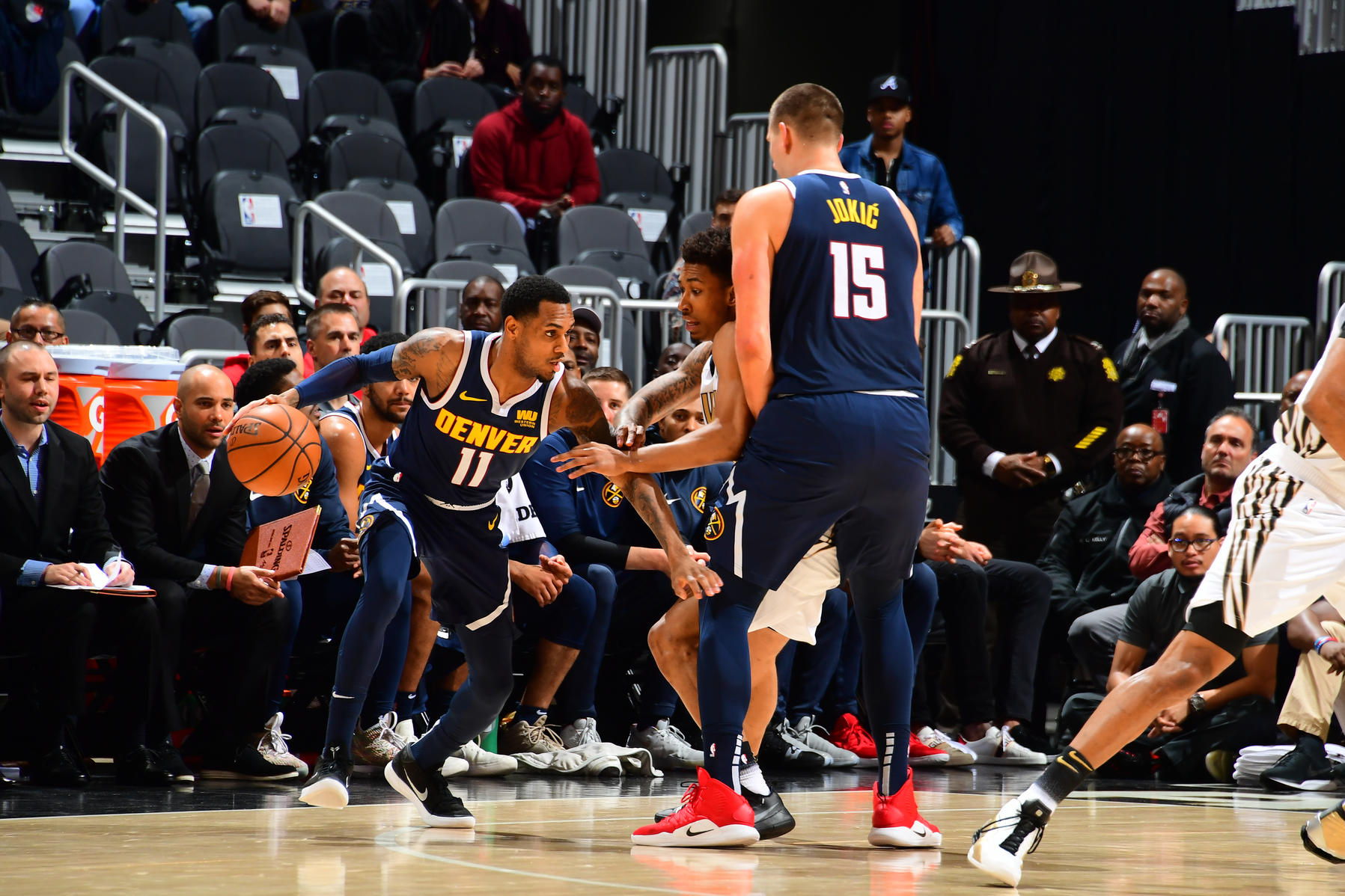 Nuggets Fall in Atlanta Drop Second in a Row