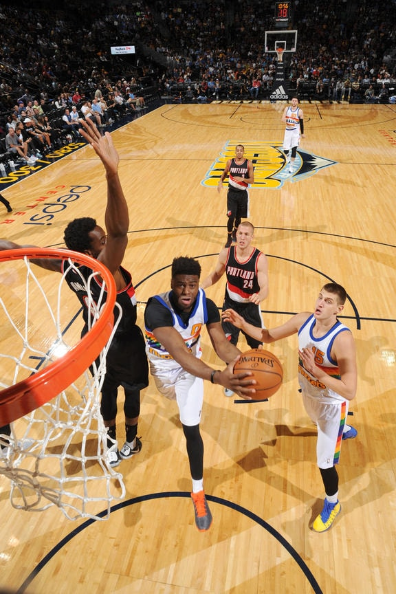 Portland Trailblazers v Denver Nuggets