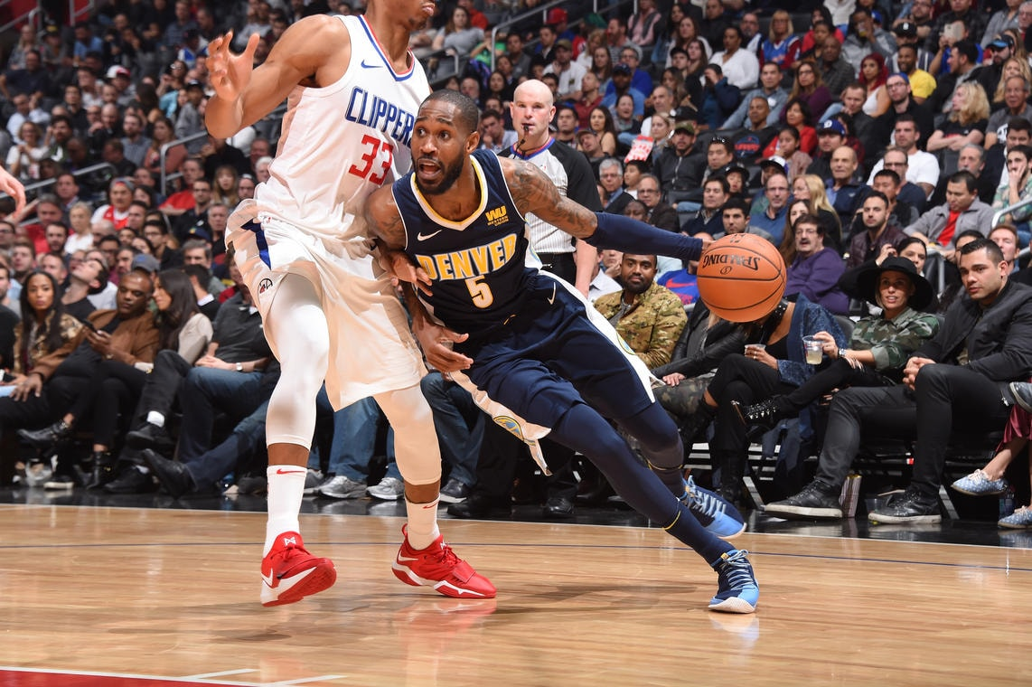 Late Nuggets Rally Falls Short in Loss to Clippers