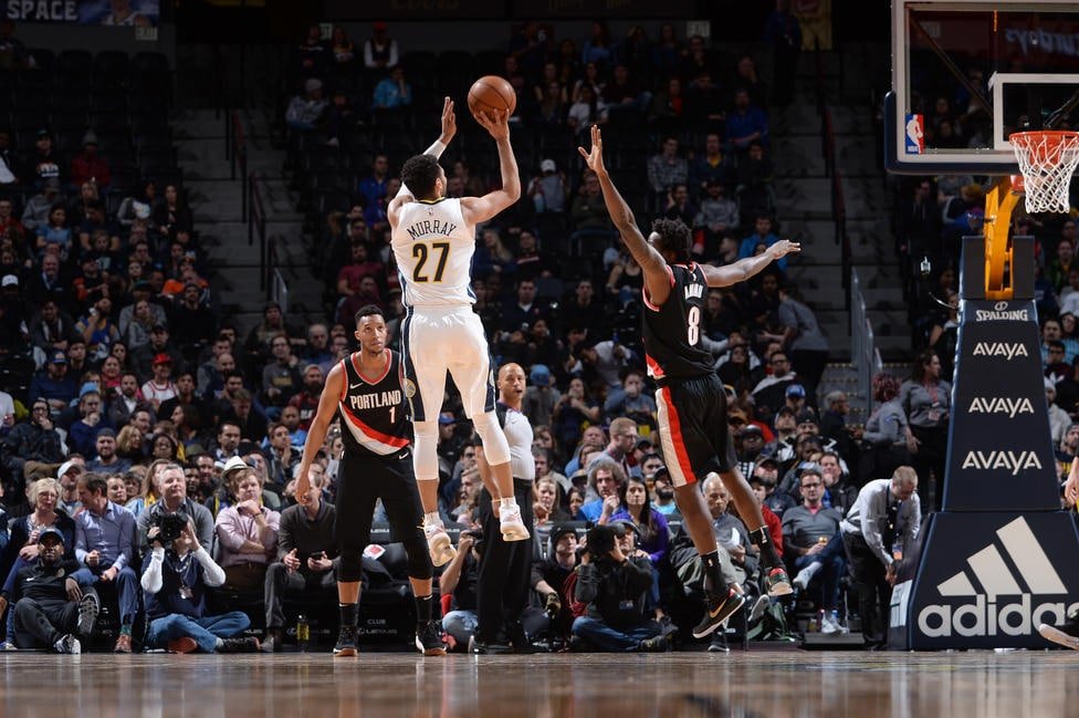 Murray's Career Night Nuggets Late Clutch Plays Seal Big Win Over Portland