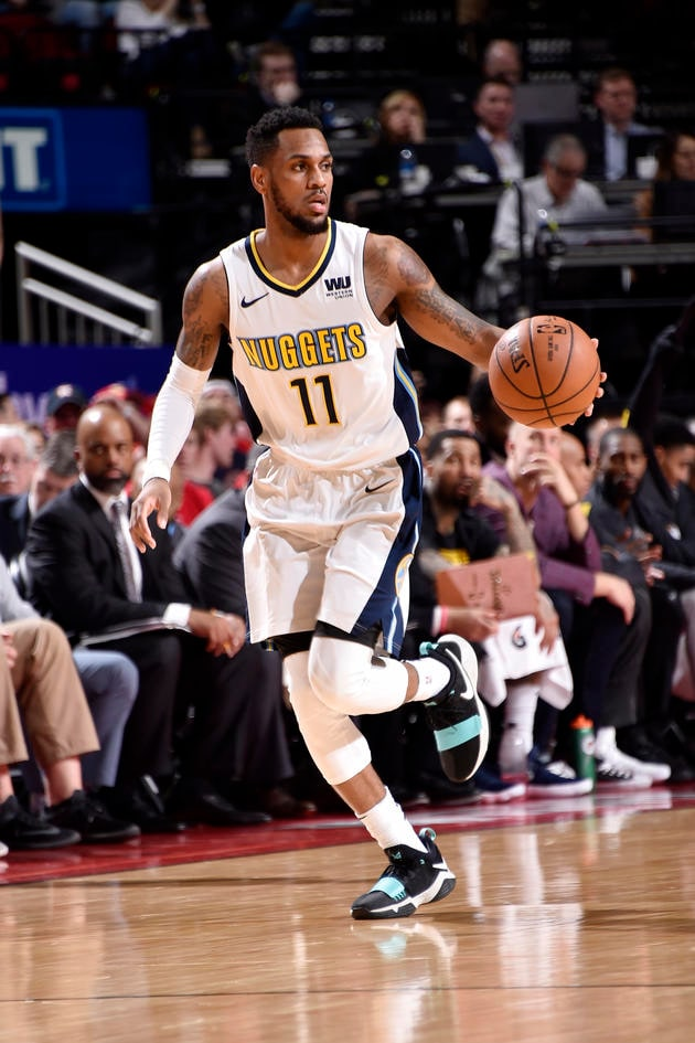the latest 2b693 a9cb6 Monte Morris: 2017-18 | Denver Nuggets