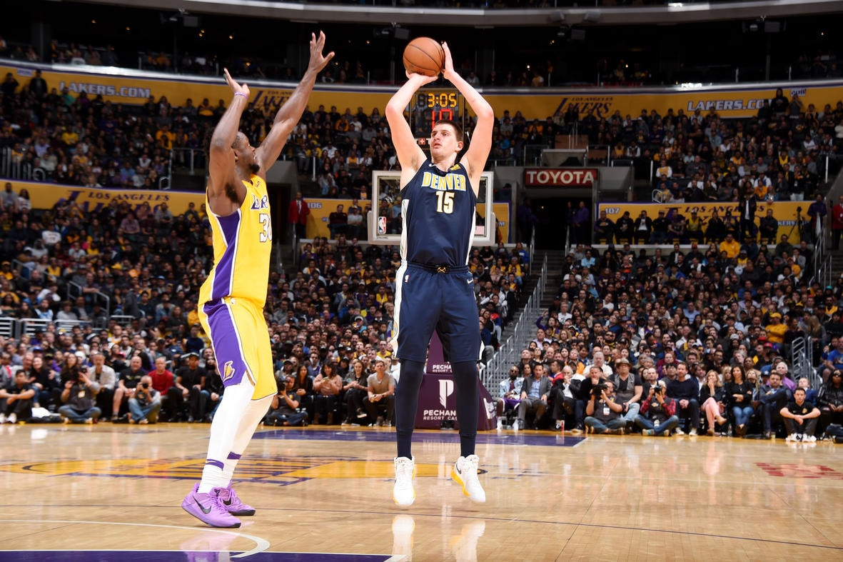 Nuggets Lose Lead in Fourth Drop 112-103 Decision to the Lakers
