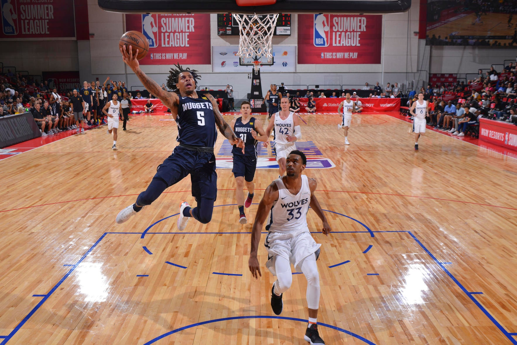 finest selection f78a7 86307 2018-19 Player Previews: DeVaughn Akoon-Purcell & Thomas ...