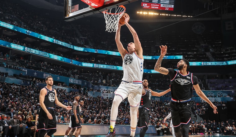 Malone Leads Team LeBron to All-Star Win, Jokić Shines Early
