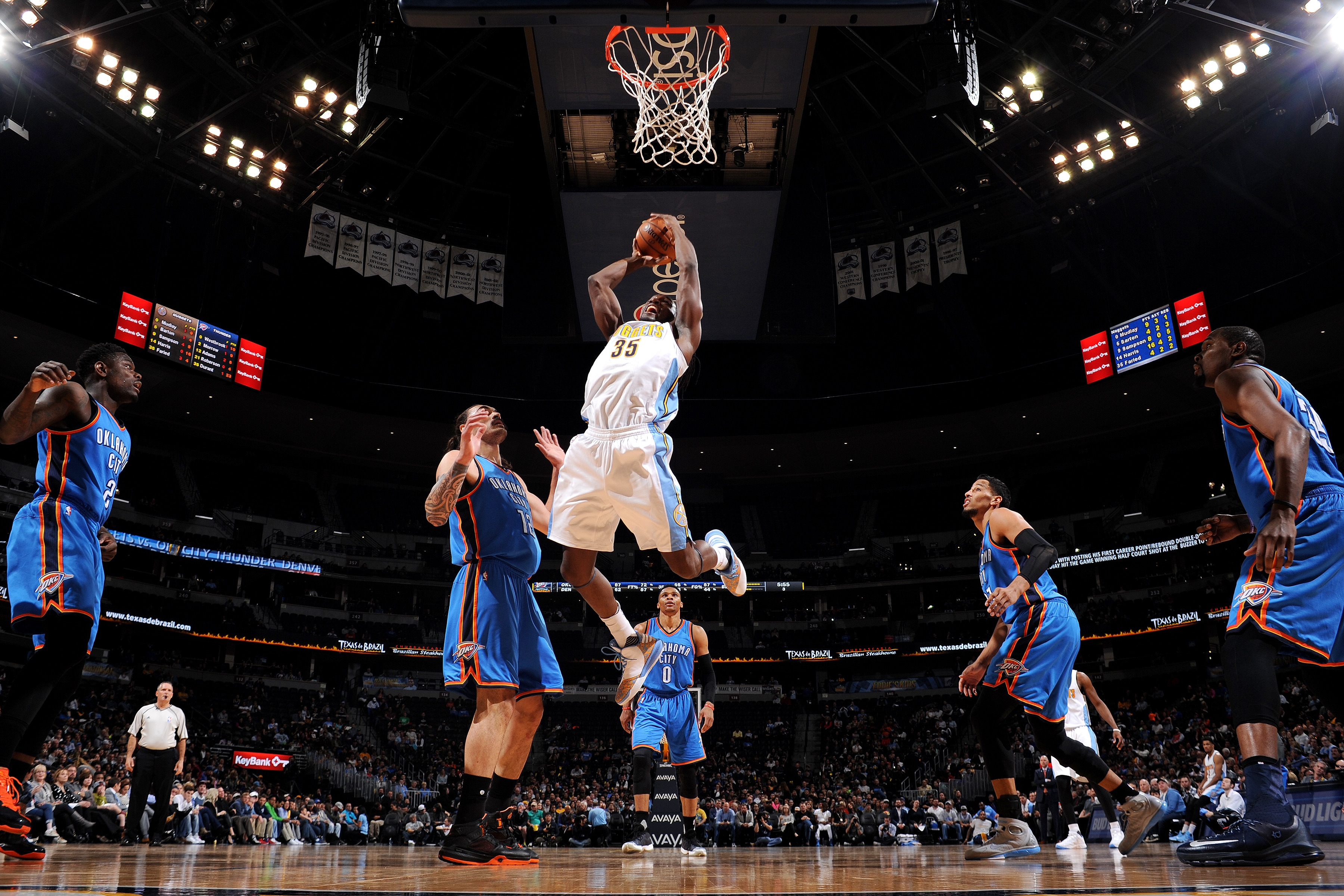Inaugural Slam Dunk Against Lupus Event Hosted by Kenneth Faried Fast Break Its Way to Denver