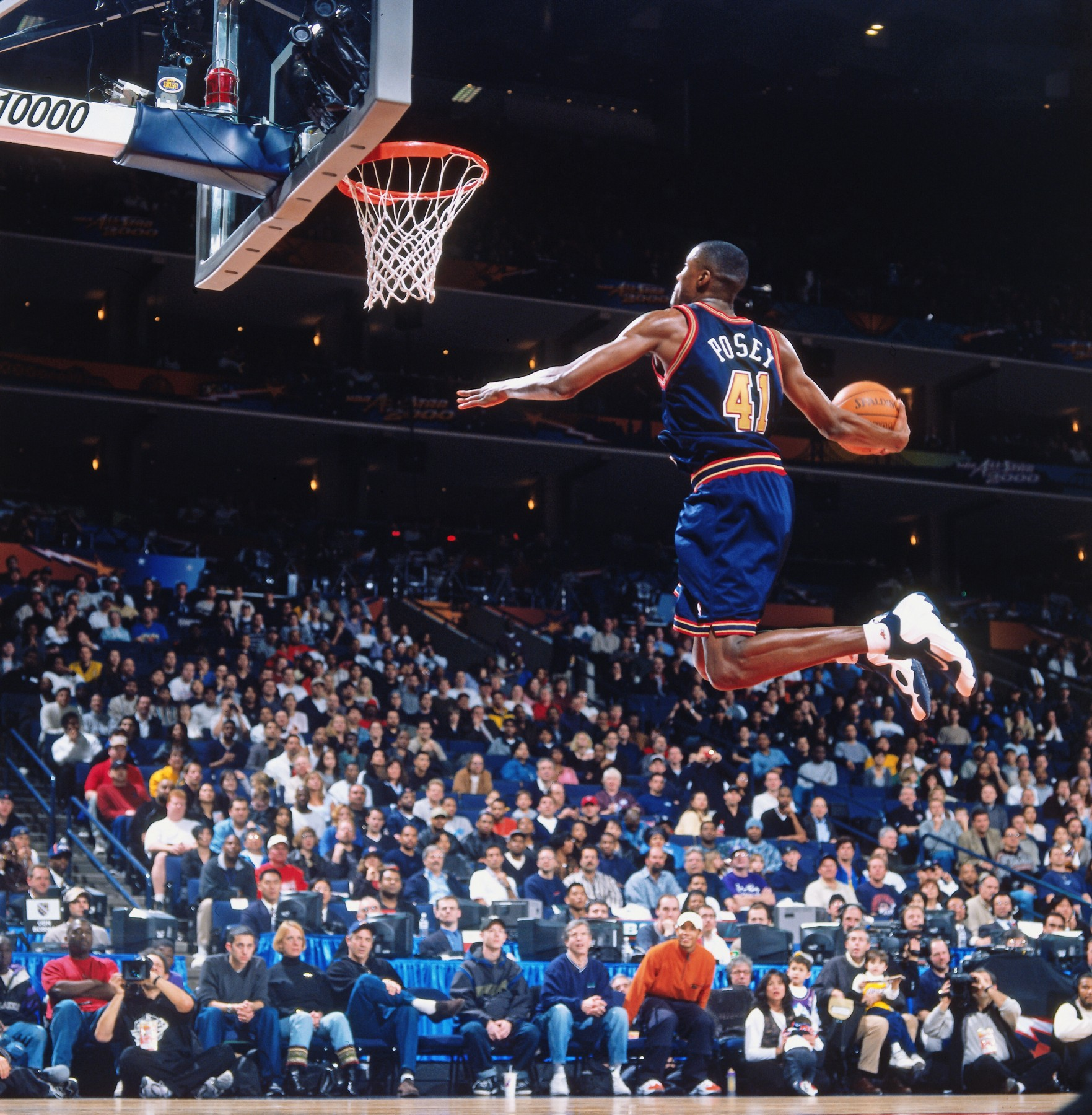 Historical Nuggets Slam Dunk Contest Photos