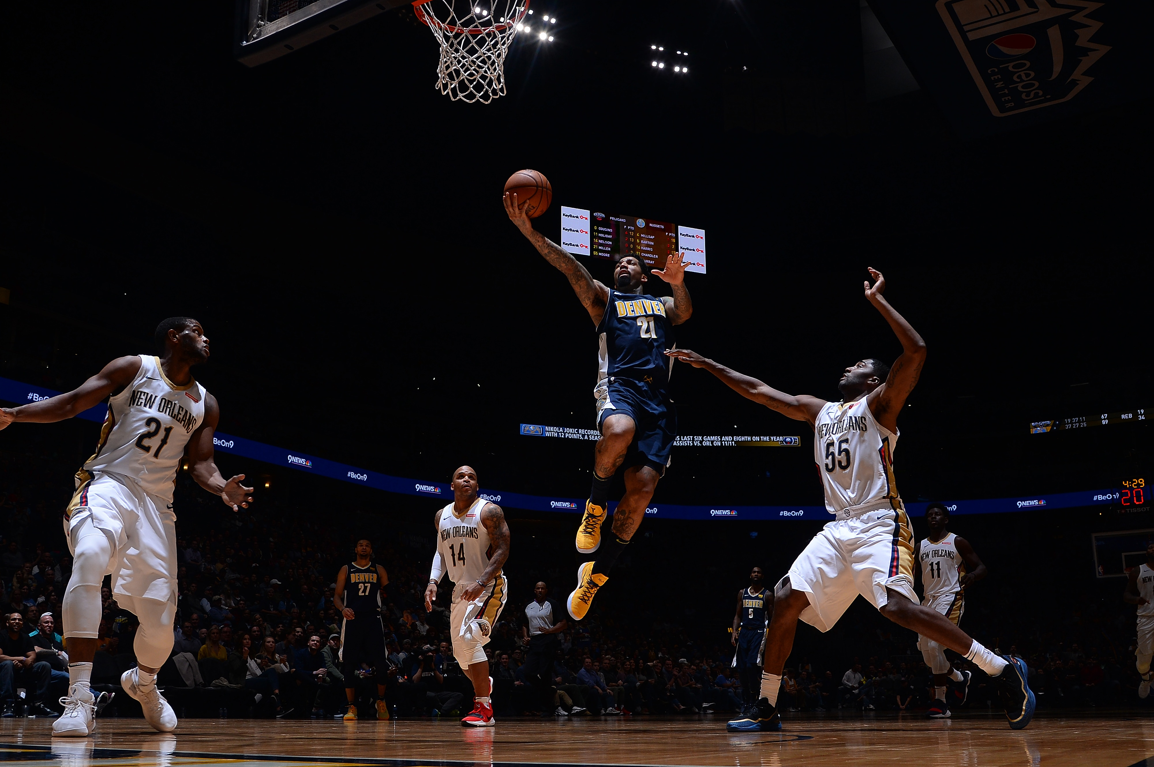 Nuggets Blitz Pelicans Put up 146 in Rout of New Orleans