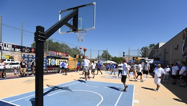 Nuggets join Cope Boys and Girls Club for Hoops for Peace