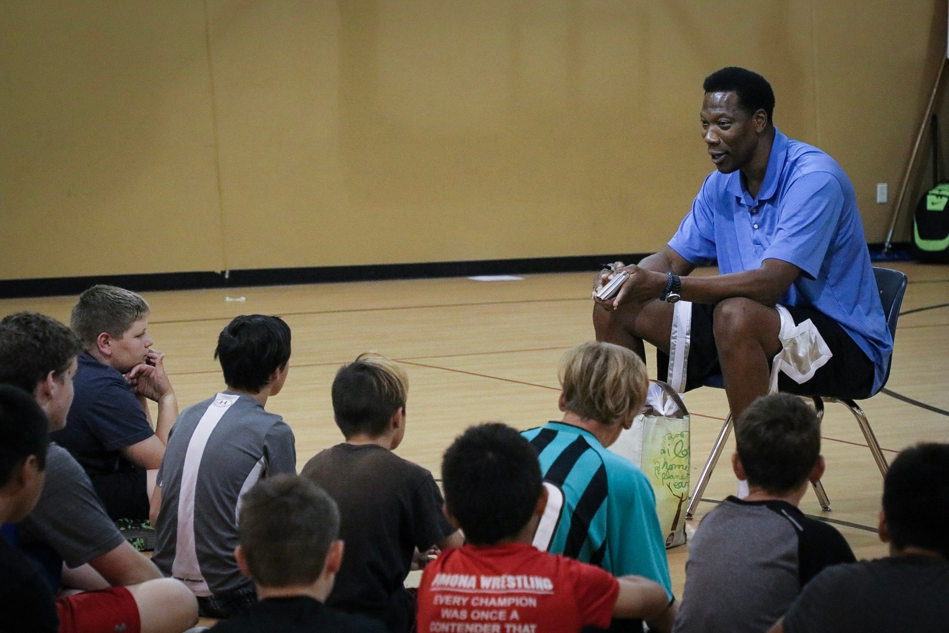 Ervin Johnson Looks to Give Back to Denver as a Mentor