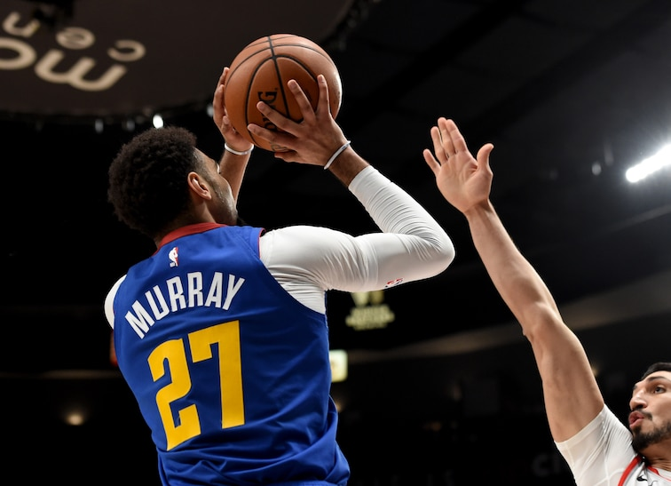 big sale f836c 3eedf Denver Nuggets' Jamal Murray gets praised by Steve Kerr for ...
