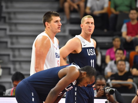 Denver Nuggets' Nikola Jokić and Mason Plumlee wrap up 2019 FIBA World Cup