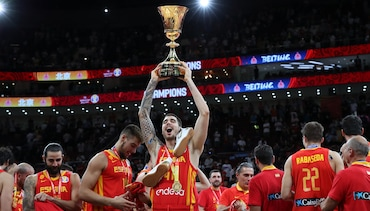 Juancho wins FIBA World Cup Gold Medal with Spain