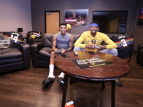 How NBA 2K, Madden and FIFA 20 connect Denver Nuggets locker room