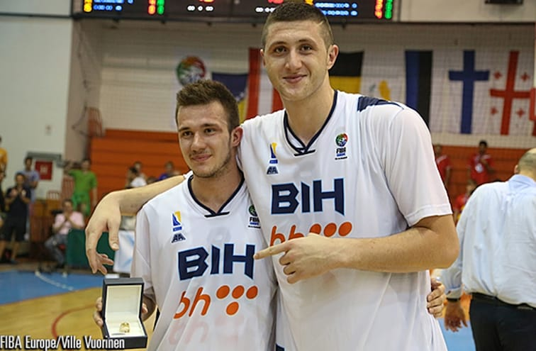 Jusuf Nurkic named MVP after leading Bosnia to U20 title