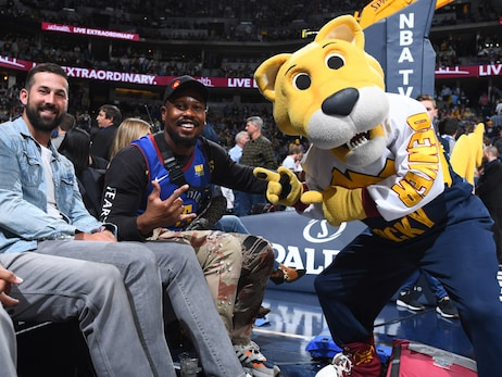 Denver Nuggets' Supermascot Rocky to be gifted Mascot Hall of Fame ring