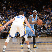 Nuggets at Warriors