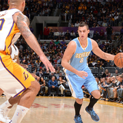 Nuggets at Lakers Gallery