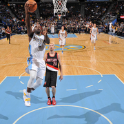 Trail Blazers vs. Nuggets Gallery
